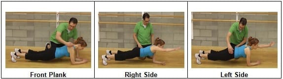 Single-arm Planks