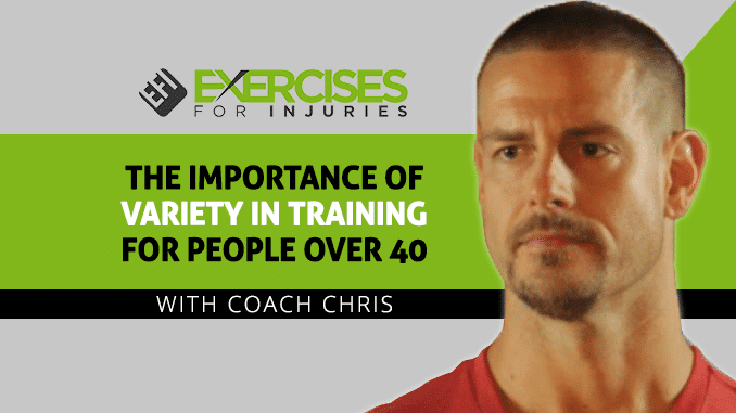 The Importance of Variety in Training for People Over 40