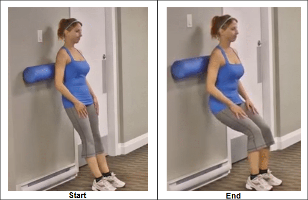 Foam Rolling Against the Wall