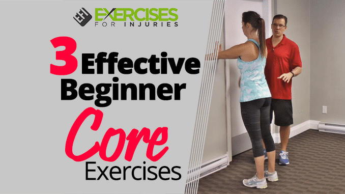 3 Effective Beginner Core Exercises