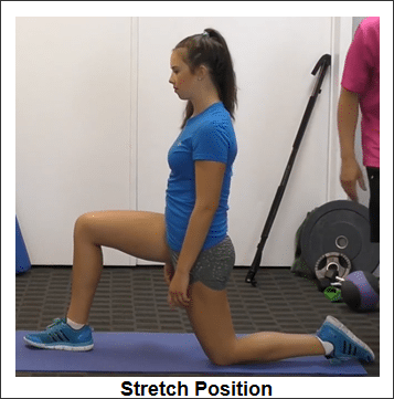 90-90 Hip Flexor Stretch
