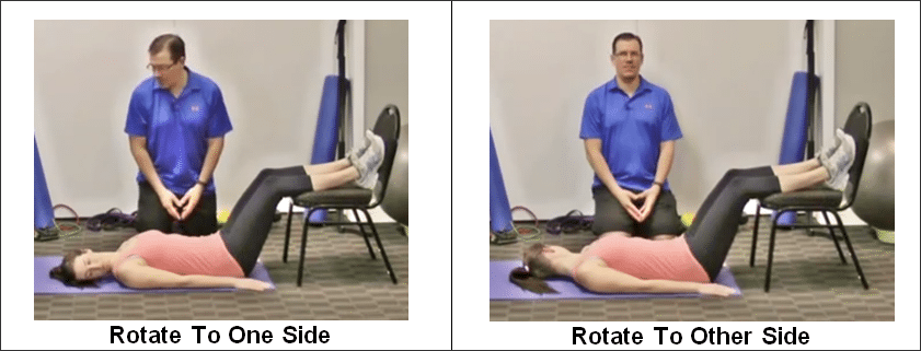 Neck Rotations on Your Back