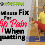 2-minute Fix for Hip Pain When Squatting
