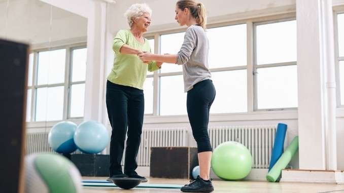 balance training is important as you age