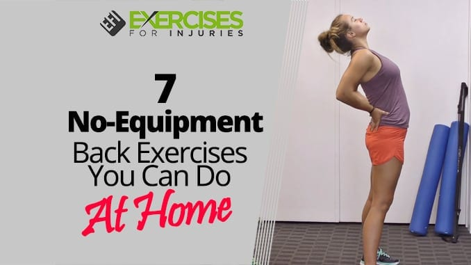 7 No-Equipment Back Exercises You Can Do At Home