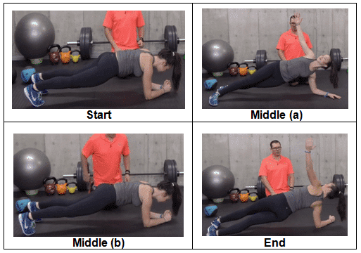 Forearm Plank to Side Plank