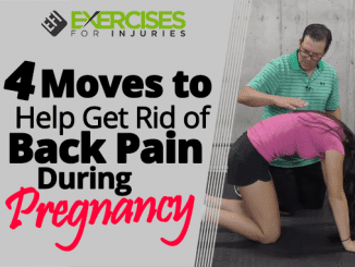 4 Moves to Help Get Rid of Back Pain During Pregnancy