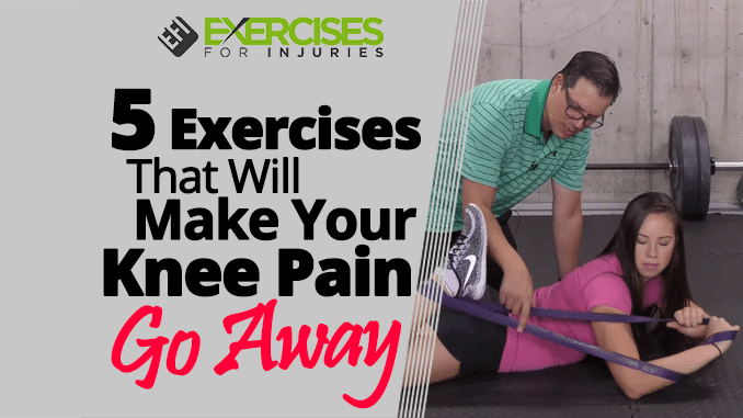5 Exercises That Will Make Your Knee Pain Go Away