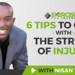 6 Tips to Cope With the Stress of Injury
