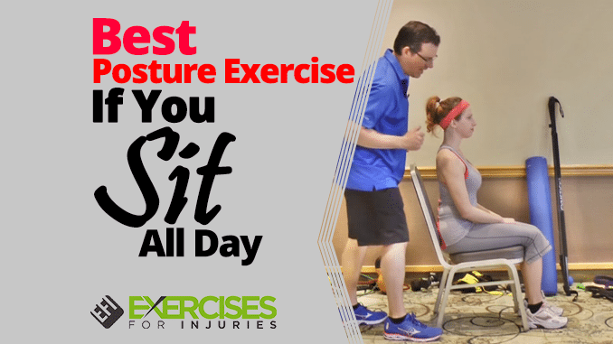 Best Posture Exercise If You Sit All Day