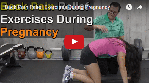 YT vid – Back Pain Relief Exercises During Pregnancy