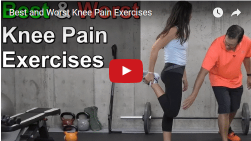 YT vid – Best and Worst Knee Pain Exercises