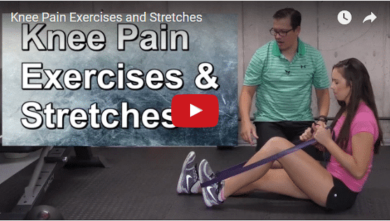YT vid – Knee Pain Exercises and Stretches