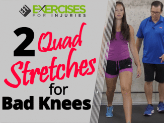 2 Quad Stretches for Bad Knees