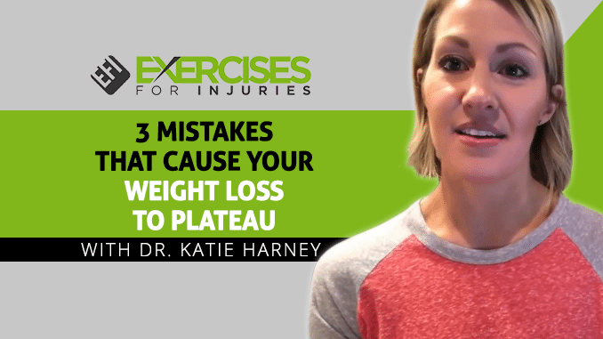 3 Mistakes That Cause Your Weight Loss To Plateau