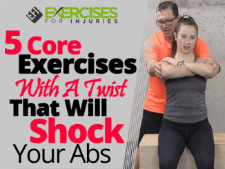 5 Core Exercises With A Twist That Will Shock Your Abs