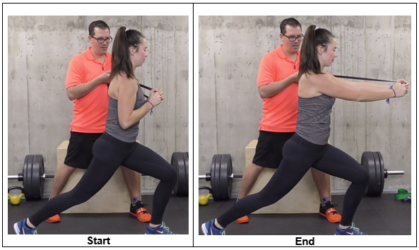 Abs Exercise Using a Resistance Band