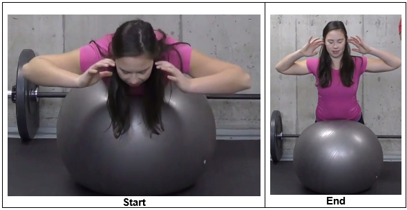 Back Extension From Stability Ball