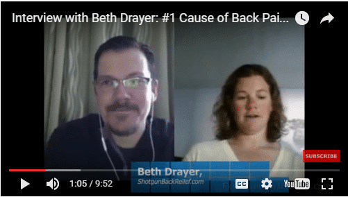YT vid – 1 Cause of Back Pain In Athletes