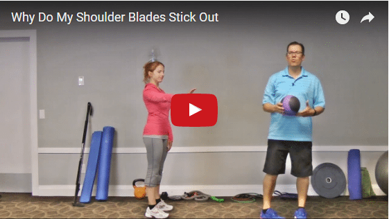 YT vid – Why Do My Shoulder Blades Stick Out