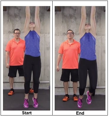 Elbow Traction With Hand In and Out