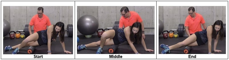 Foam Rolling Out the Iliotibial Band
