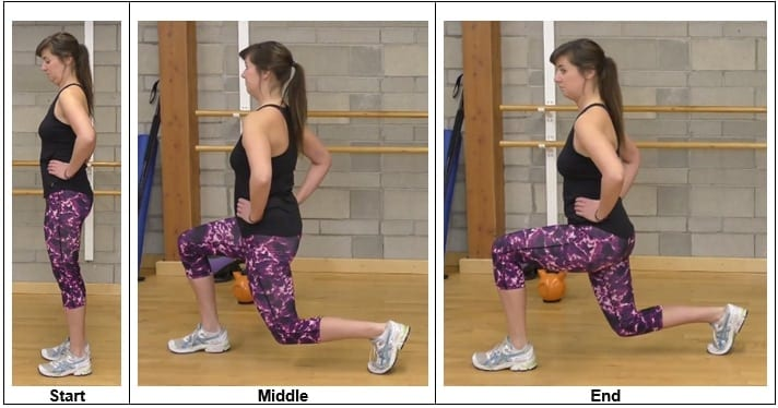Front Lunge