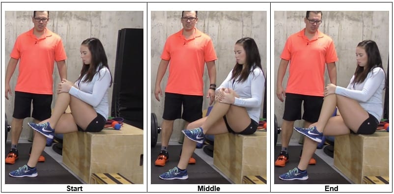 Knee Movement in a Chair