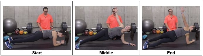 Front Plank to Side Plank