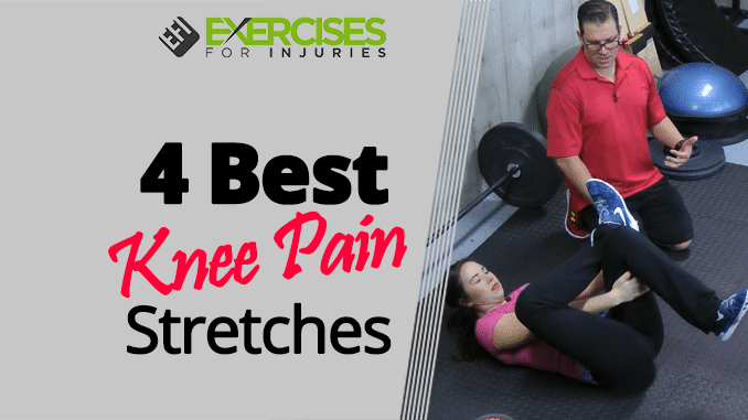 4 Best Knee Pain Stretches