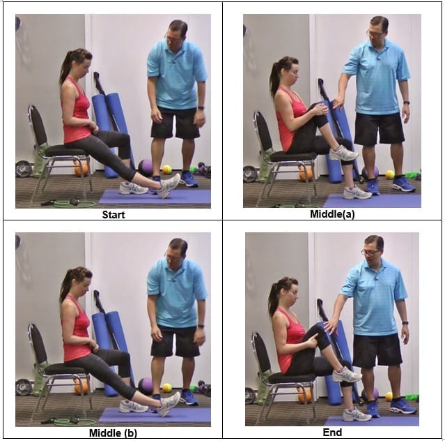 Pull the Knee Close to Your Chest