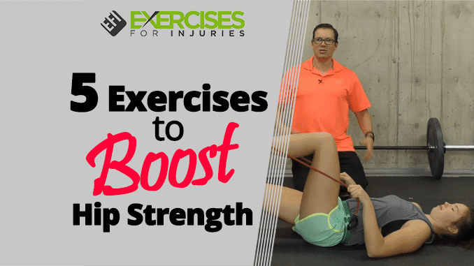 5 Exercises to Boost Hip Strength