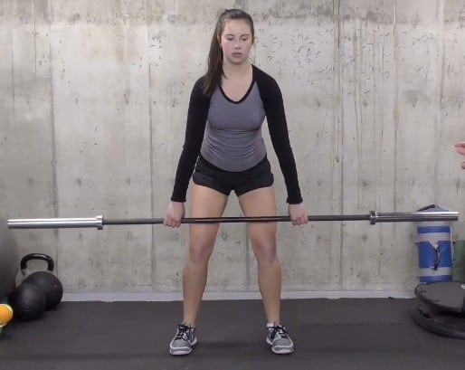 Bring the Bar Off the Floor With the Hips