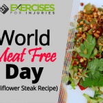 World Meat Free Day (Cauliflower Steak Recipe)