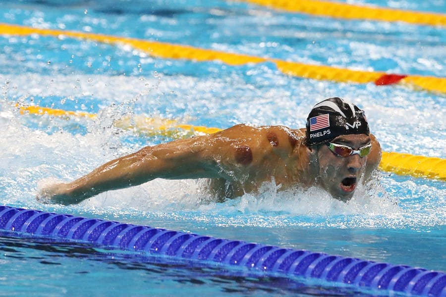 swimming in the olympics