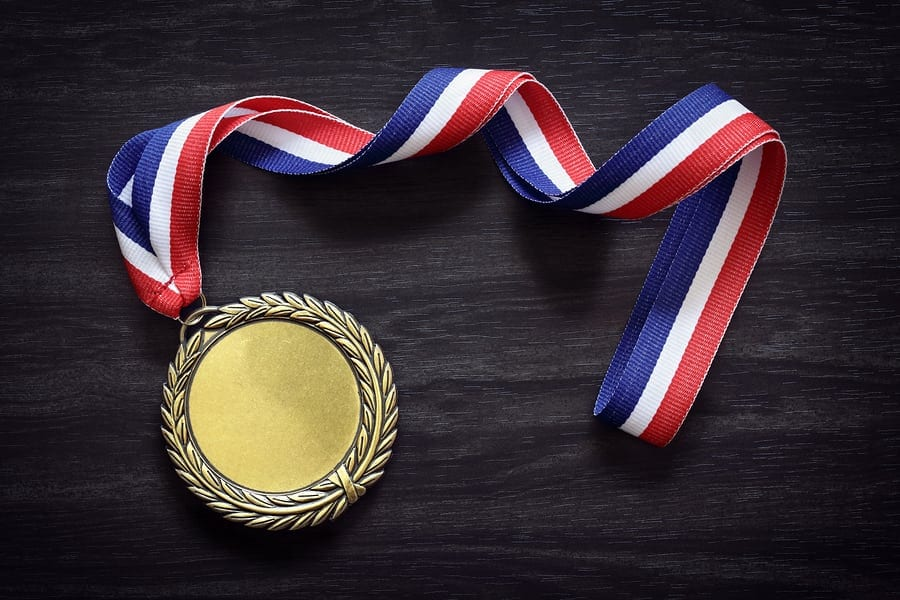 Gold Medal in the Olympics