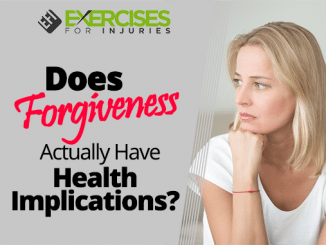 Does Forgiveness Actually Have Health Implications