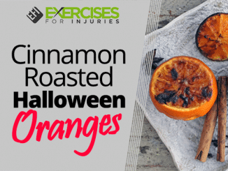 Cinnamon Roasted Halloween Oranges