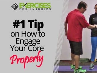 #1 Tip on How to Engage Your Core Properly