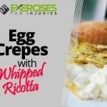 Egg Crepes with Whipped Ricotta