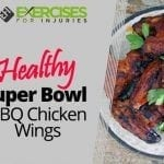 Healthy Super Bowl BBQ Chicken Wings