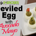 Deviled Eggs With Avocado Mayo