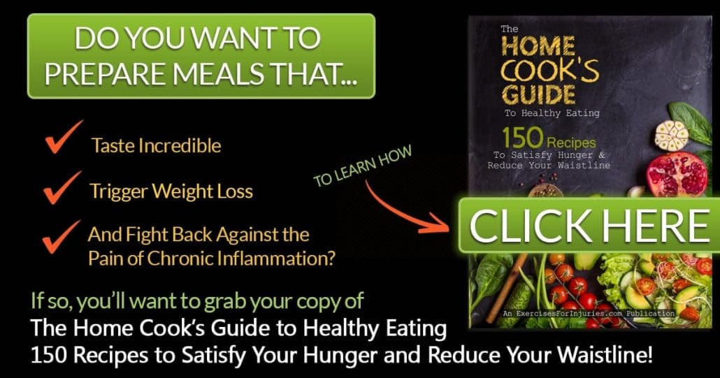 Promotional Blog Graphic for The Home Cooks Guide to Healthy Eating