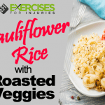 Cauliflower Rice With Roasted Veggies