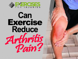 Can Exercise Reduce Arthritis Pain