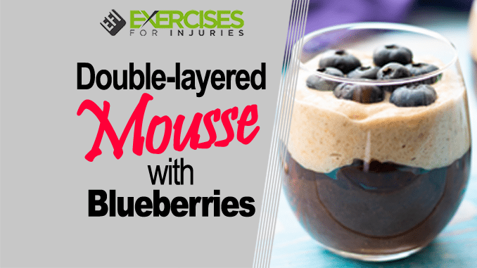 Double Layered Mousse with Blueberries copy