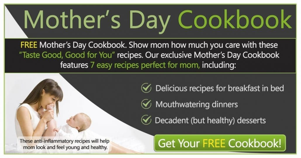 Promotional Blog Graphic for Mother's Day Cookbook
