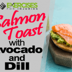 Salmon Toast with Avocado & Dill