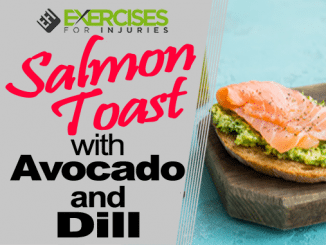 Salmon Toast with Avocado and Dill