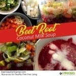 Beet Root and Coconut Milk Soup